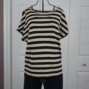 LOFT Tops - Loft - Petite Striped Dolman Sweater
